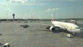 普尔科沃机场在圣彼德堡 4K 股票录像