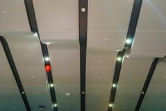 普尔科沃机场终端天花板  库存照片