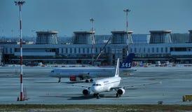 普尔科沃机场 免版税图库摄影