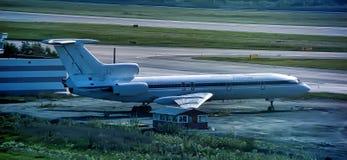 普尔科沃机场 免版税库存图片