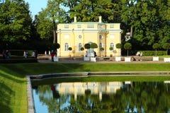 普希金公园在俄罗斯 免版税库存图片