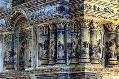 普希金宫殿在俄罗斯 免版税图库摄影