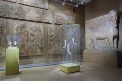 普希金艺术状态博物馆内部在莫斯科,俄罗斯 库存图片