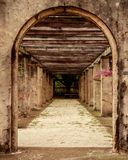 普拉多入口 库存照片