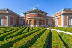 普拉多博物馆在西班牙 免版税库存图片