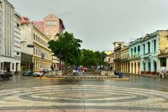 普拉多大道,哈瓦那 库存图片