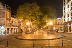 普拉多大道,哈瓦那 库存照片