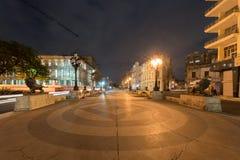 普拉多大道,哈瓦那 免版税库存图片