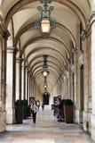 普拉布蒂拱廊 库存图片