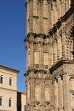 普拉森西亚大教堂的门的细节, 免版税库存照片