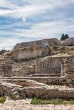 普拉的,克罗地亚小罗马剧院 库存图片