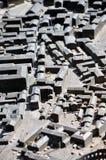 普拉,克罗地亚微型城市设计  免版税库存照片