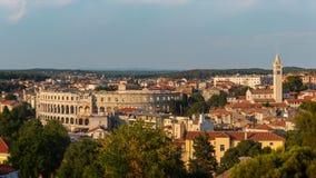 普拉, Istria,克罗地亚 免版税库存照片