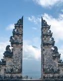 普拉Luhur Lempuyang寺庙巴厘岛印度尼西亚 免版税库存照片