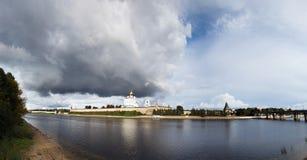 普斯克夫堡垒 库存图片