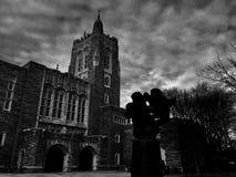 普林斯顿大学图书馆 免版税库存照片