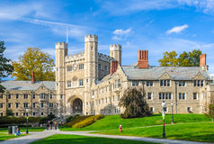 普林斯顿大学 免版税图库摄影