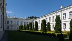 普沃茨克老镇在波兰 免版税库存图片
