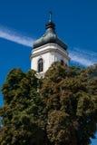 普沃茨克老镇在波兰 库存图片