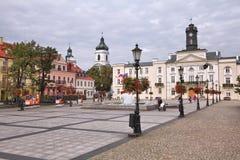 普沃茨克,波兰 库存图片