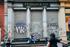 普特南& Co 32霍华德St,纽约 免版税库存照片
