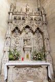 普瓦捷,法国- 2016年9月12日:非常老教会Notre Da 免版税库存图片