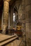 普瓦捷,法国- 2016年9月12日:非常老教会Notre Da 免版税图库摄影