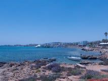 普罗塔拉斯海滩 库存照片