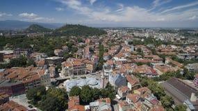 普罗夫迪夫,保加利亚,2018年10月23日 免版税库存照片