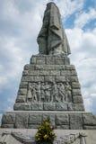 普罗夫迪夫,保加利亚2017年6月11日:叫作阿廖沙的苏联军队的纪念碑在市普罗夫迪夫 免版税库存图片