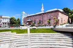 普罗夫迪夫,在2019年保加利亚-文化的欧洲首都 图库摄影