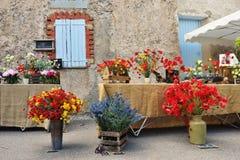 普罗旺斯农村市场,法国 免版税库存图片