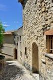 普罗旺斯村庄,法国 免版税库存照片