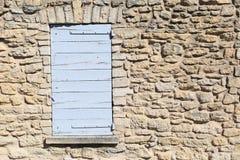 普罗旺斯样式窗口 库存照片