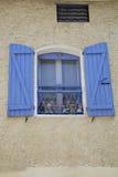 普罗旺斯窗口 免版税库存图片