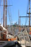 普罗旺斯彻特d'Azur,法国-马赛旧港口 免版税库存照片