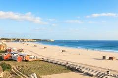 普腊亚da Rocha, Portimão,阿尔加威,葡萄牙 免版税库存照片