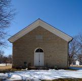 普莱诺石头教会 库存照片