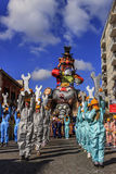普蒂尼亚诺,普利亚,意大利- 2015年2月15日:狂欢节浮游物 狂欢节乘驾:Ilva寓言的浮游物普蒂尼亚诺狂欢节的 图库摄影