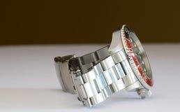 普通潜水者的手表 库存图片