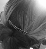 普通的发型 库存图片