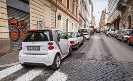 普通的街道在老罗马 库存图片