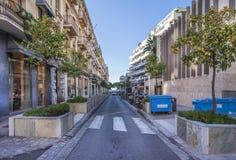 普通话胡同在戛纳,法国 免版税库存图片