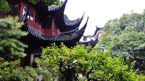 普通话Yu,上海,中国庭院  免版税库存图片