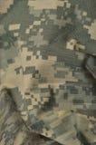 普遍伪装样式,军队作战一致的数字式camo 免版税库存照片