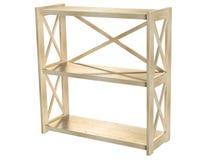 普遍木书架对您的家和办公室是完善的 免版税库存图片