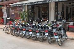 普遍的咖啡馆啤酒店在暹粒 图库摄影