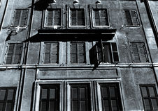 普遍的大厦在罗马 免版税库存照片