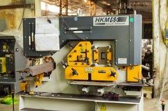 普遍金属切削机器 免版税库存图片