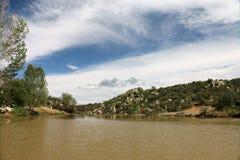 普里斯科特谷的,亚利桑那欣然的湖 库存照片